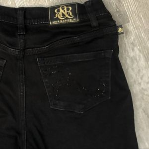 rock and republic jeans black rhinestone 0035
